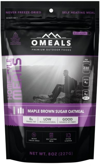 photo: OMeals Maple Brown Sugar Oatmeal