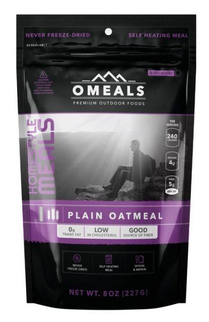 photo: OMeals Plain Oatmeal