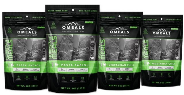 photo: OMeals Vegetarian Lovers Adventure Pack