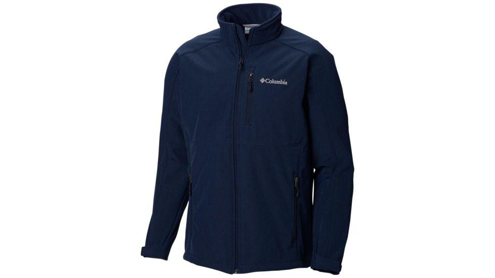 Columbia Ryton Reserve Softshell Jacket - Men's, Collegiate Navy Heather, Collegiate Navy, Extra Large, 179903-465-XL