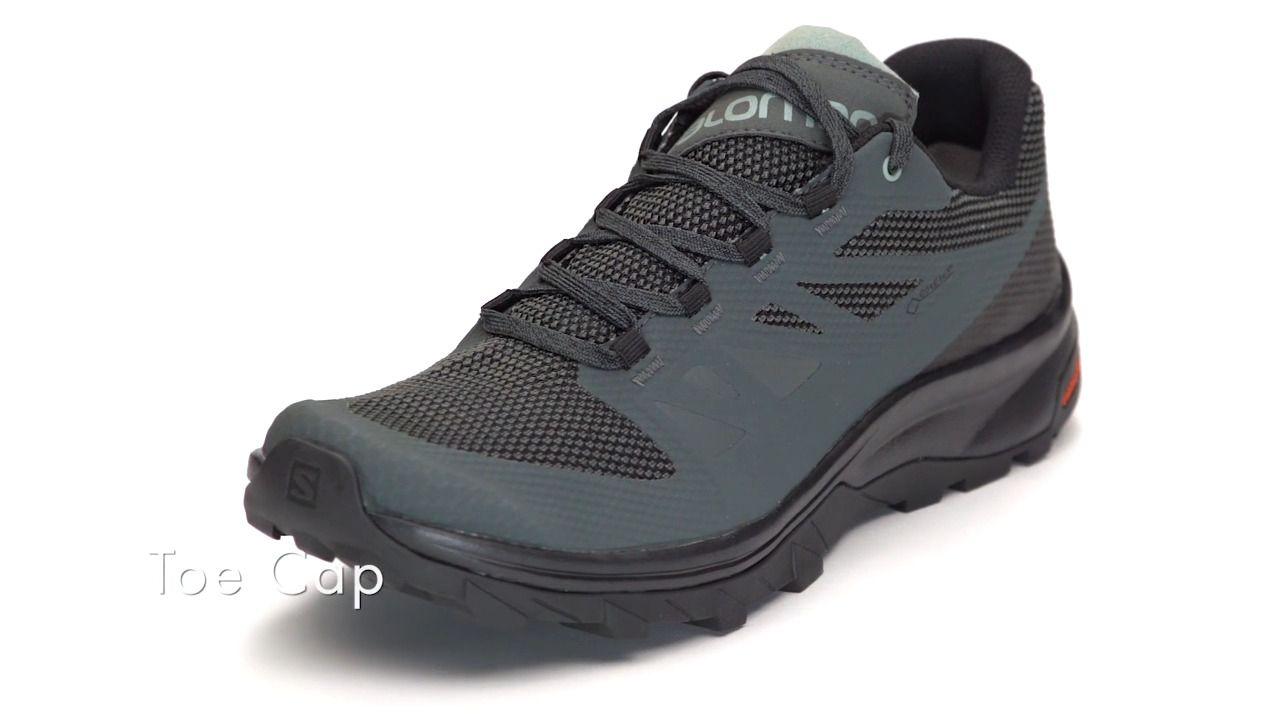 salomon outline low gtx hiking shoes - men's