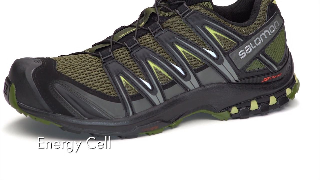 b64fd9a8805 ... Men's-Black/Black Magnet-. opplanet salomon xa pro 3d running shoes  video