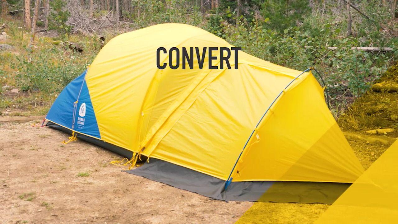 opplanet sierra designs convert tent video & Sierra Designs Convert 3 Tent - 3 Person 4 Season sid0530 ...