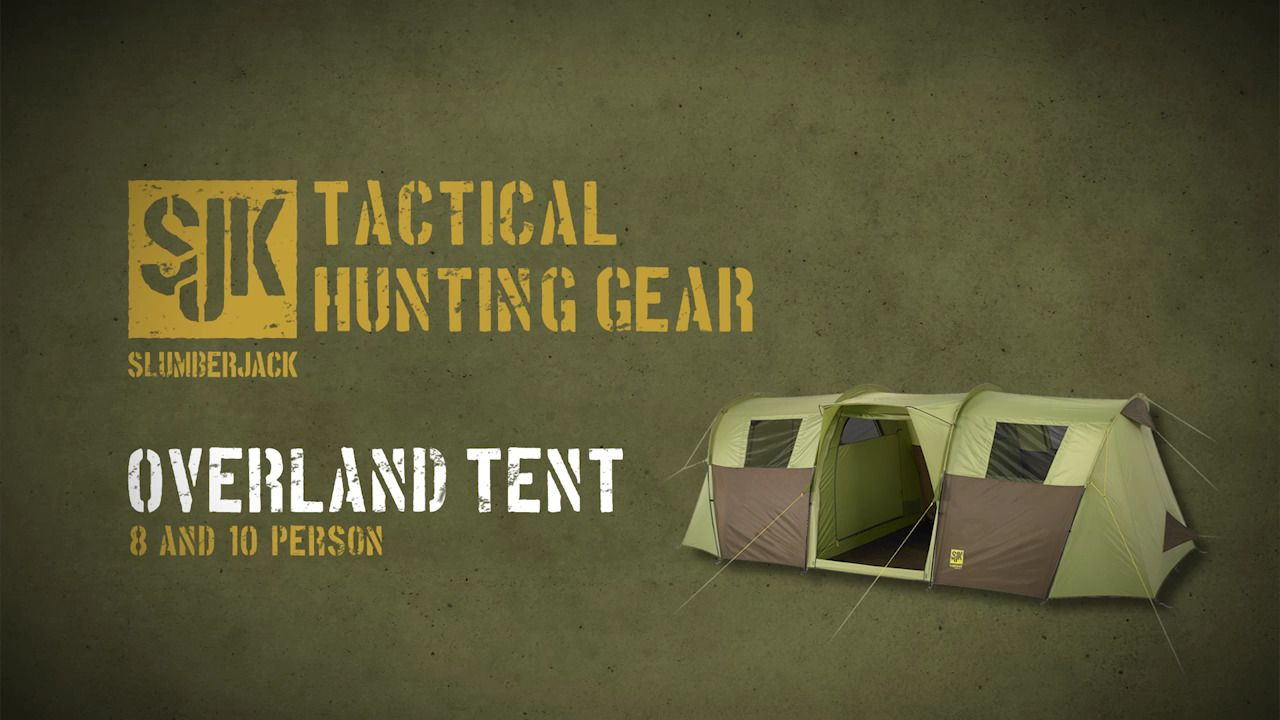 opplanet slumberjack overland 8 hunting c&ing 3 season tent video & Slumberjack Overland 8 Hunting and Camping 3-Season Tent 58754716 ...