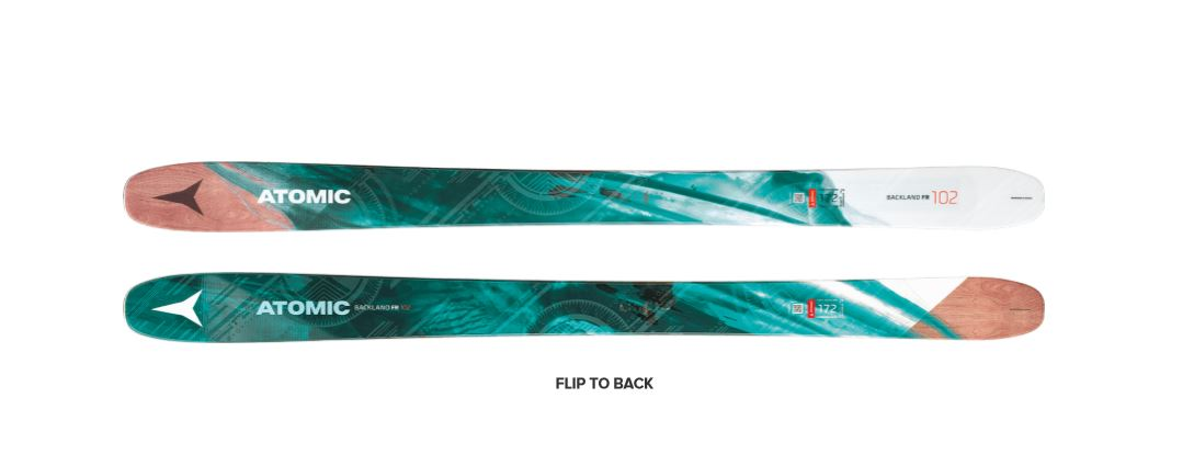 Atomic Backland FR 102 Ski - Womens — CampSaver 1496072b5