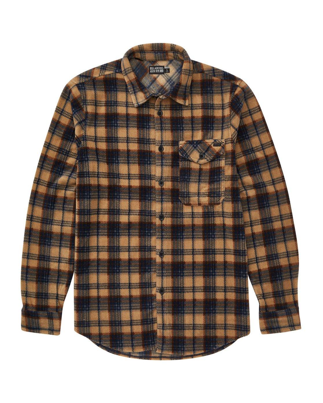 NEW $60 Billabong Men/'s Furnace Flannel Mens Size Large L