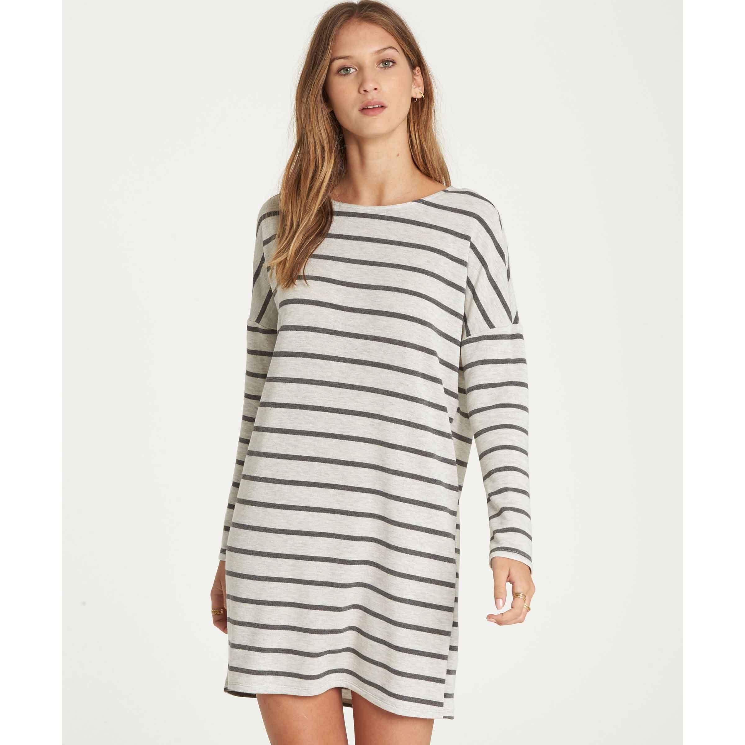 2c04091e74838 Billabong Simply Put Long Sleeve T-Shirt Dress - Womens, Up to 41 ...