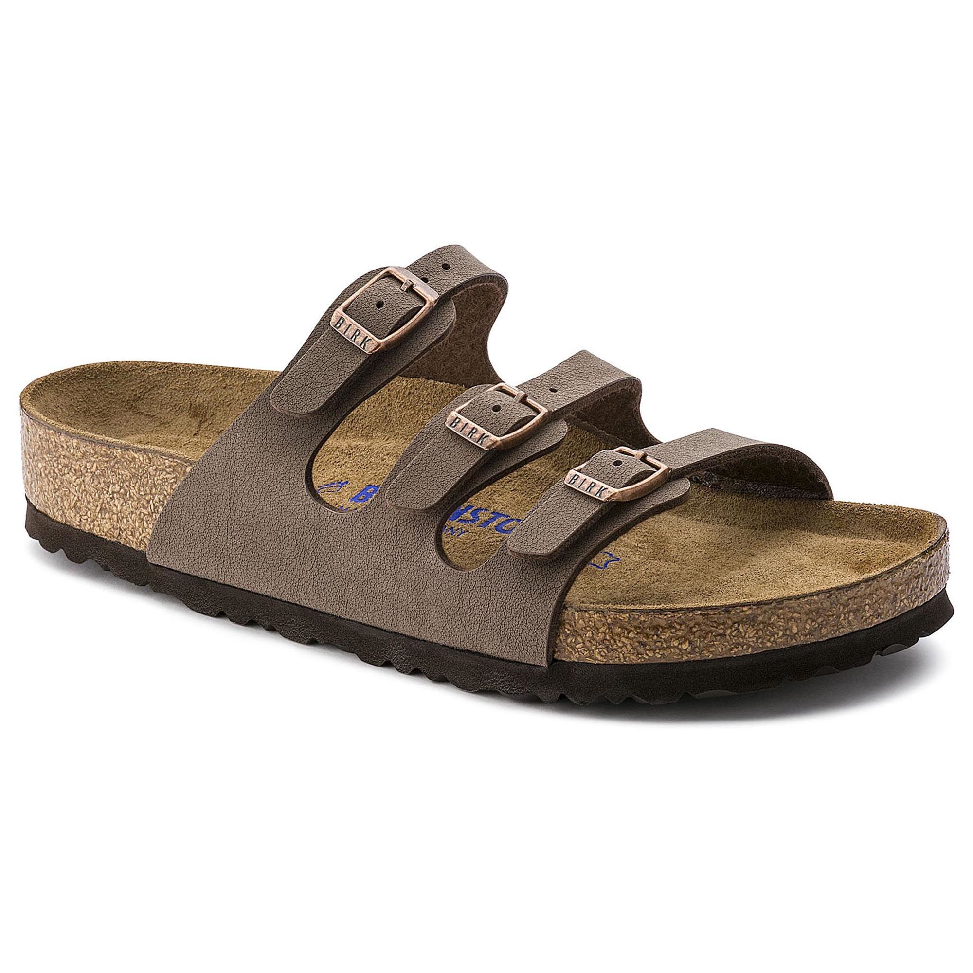 aaa3cfa2bc4a Birkenstock Florida Soft Footbed Birko-Flor Sandals - Women s with Free S H  — CampSaver