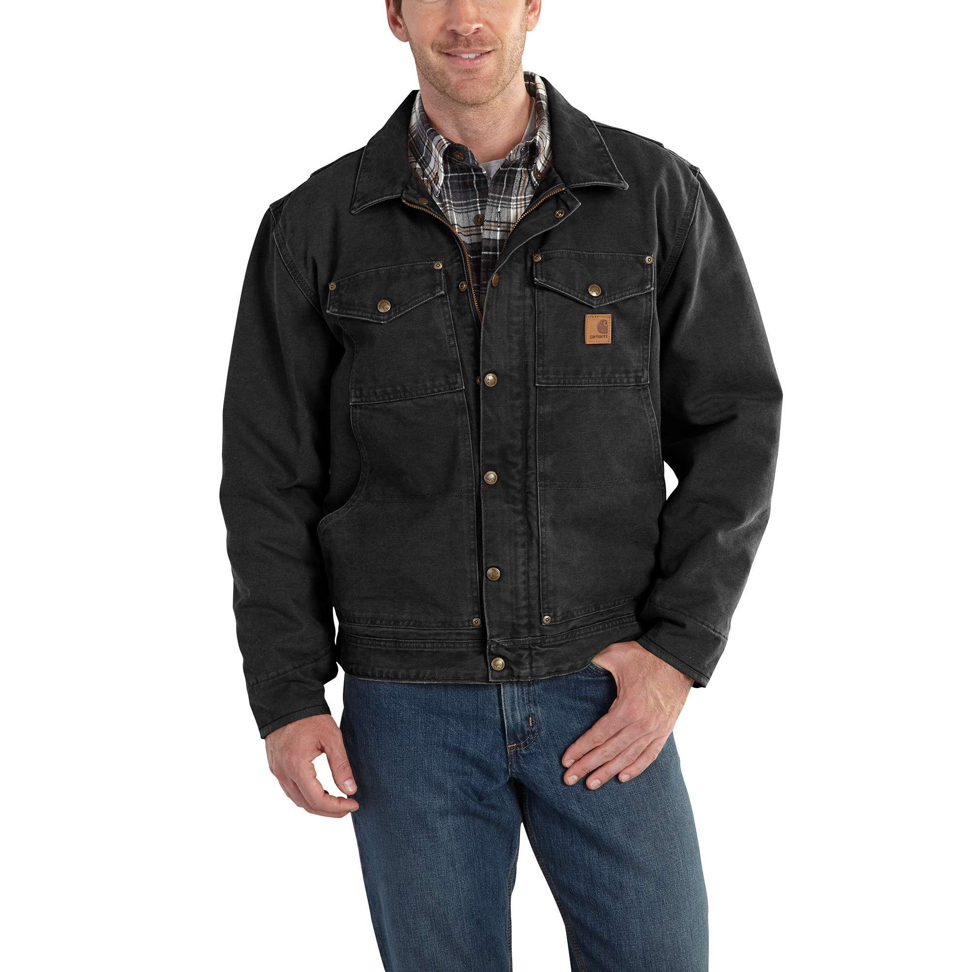 1498cf5e20c79 Carhartt Berwick Jacket for Mens, Up to 15% Off with Free S&H — CampSaver