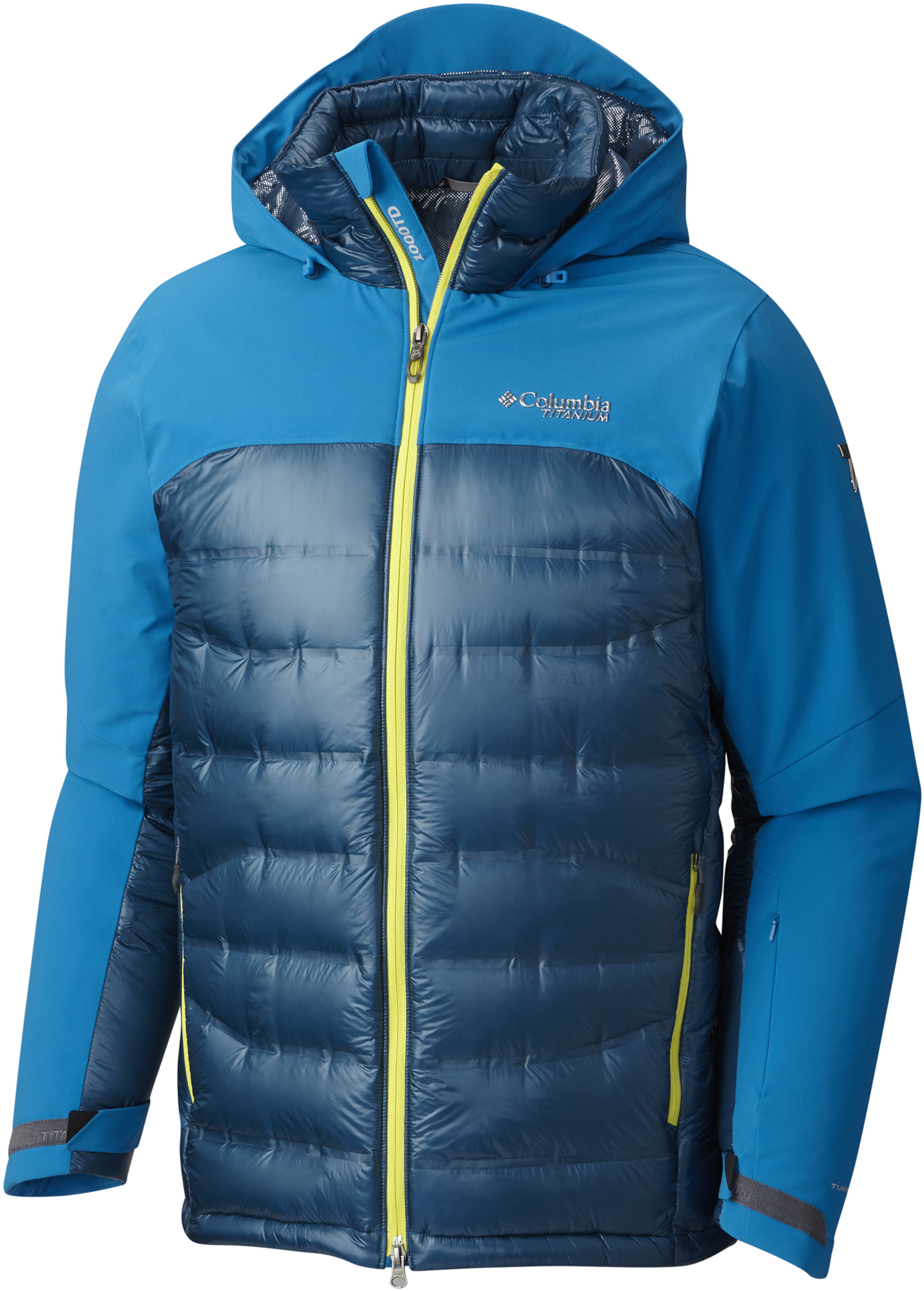 1f8e06f92 Columbia Heatzone 1000 TurboDown II Jacket - Mens 1619811402-XL,  Insulation: Down w/ Free Shipping