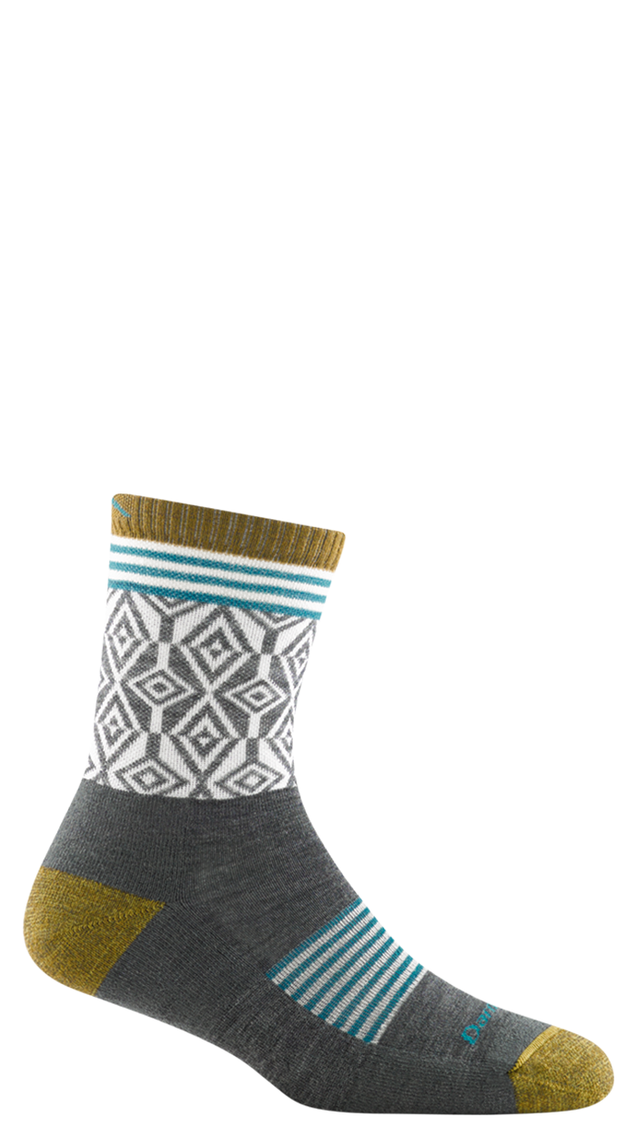 Darn Tough Sobo Micro Crew Lightweight Sock with Cushion Womens Navy Large