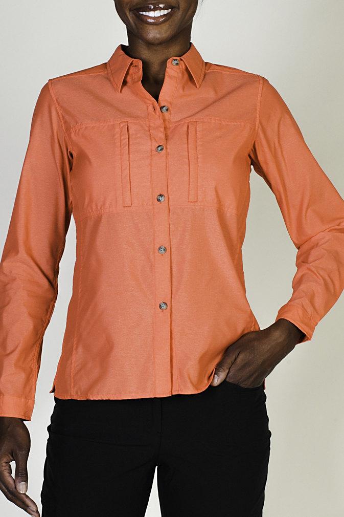 8b1771da ExOfficio Dryflylite Long Sleeve Shirt - Womens, Up to 58% Off — CampSaver