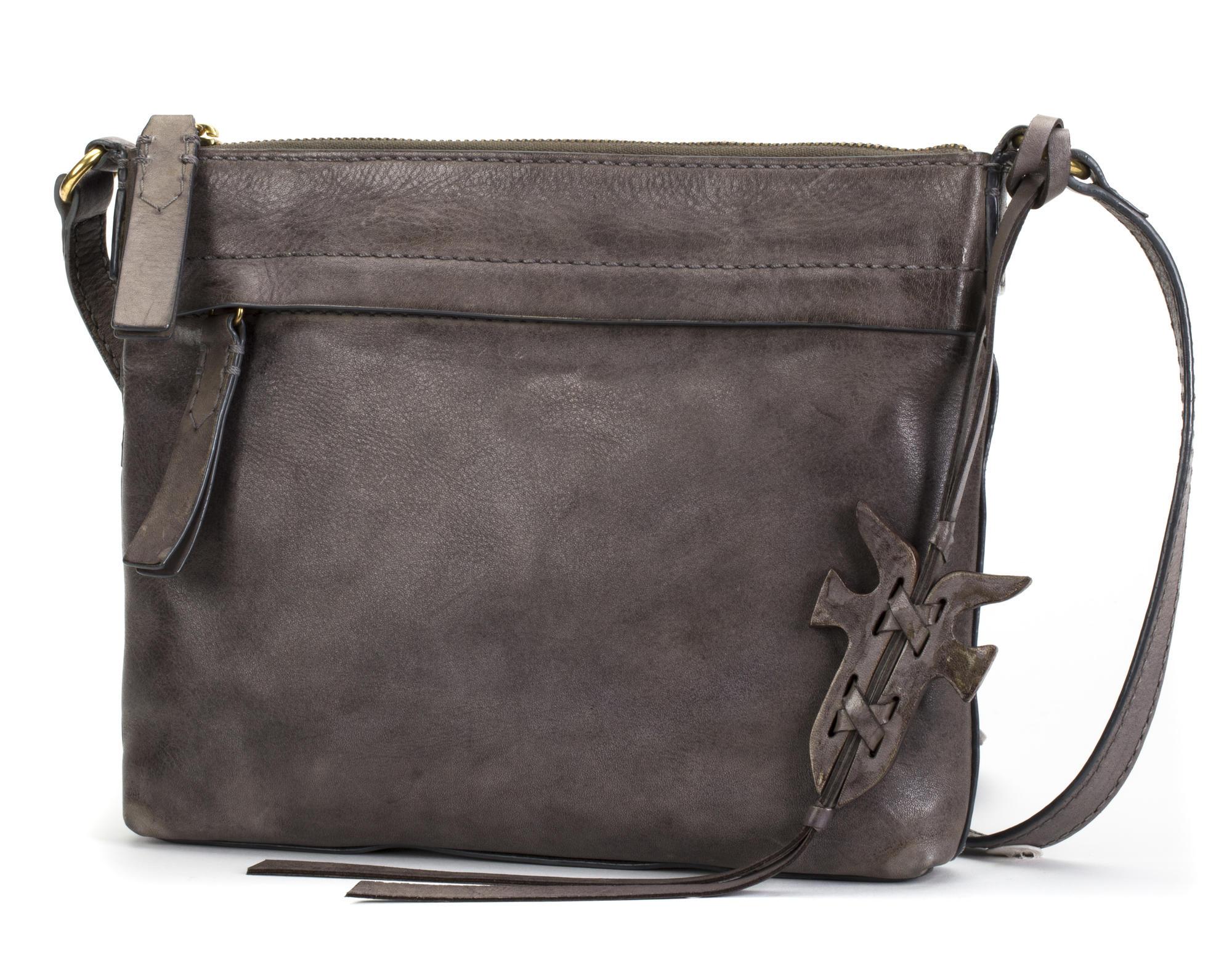 a6496016eb5e56 Frye Carson Crossbody Bag - Women's 34DB0105-GRY with Free S&H ...