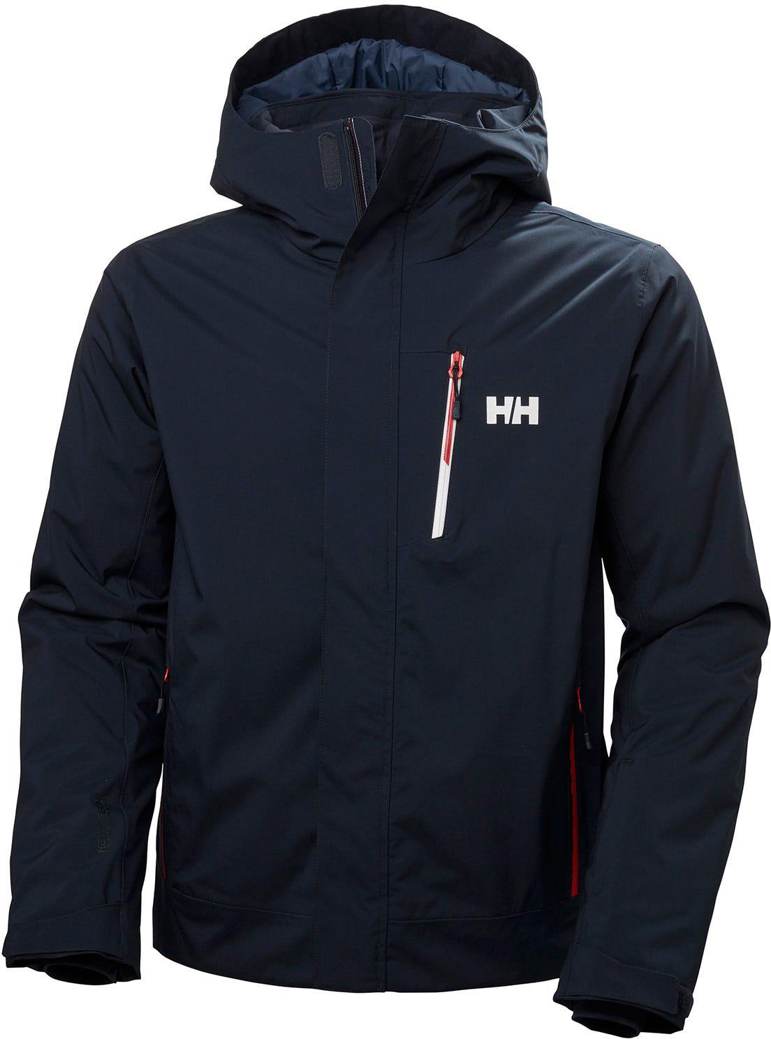 Helly Hansen Mens Lifaloft Hooded Insulator Waterproof Jacket 28/% OFF RRP