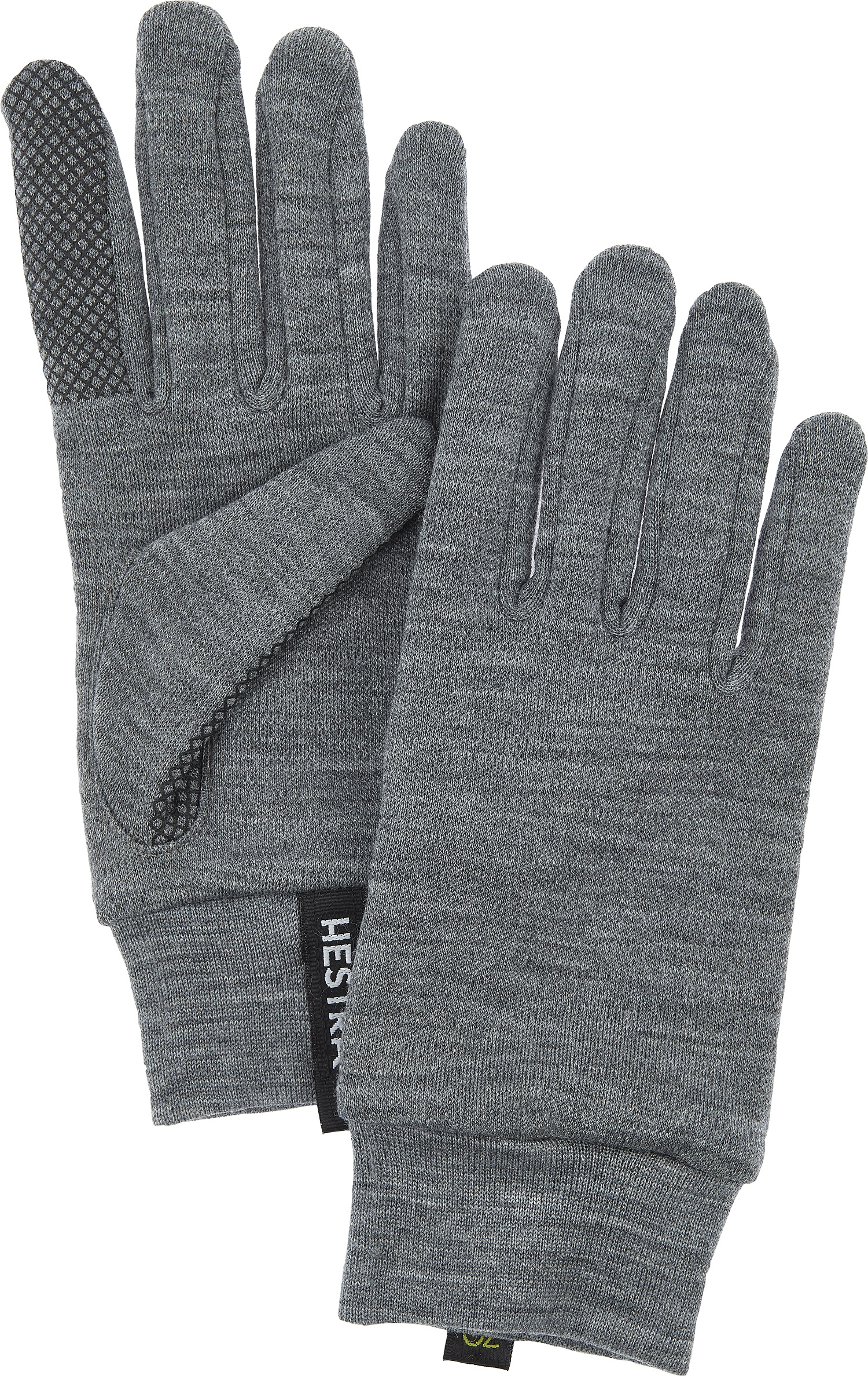Hestra Merino Touch Point 5 Finger Glove Uni 34440 350 06 Color Grey Mens Size 6 Additional Features Brushed Inside W Free S H