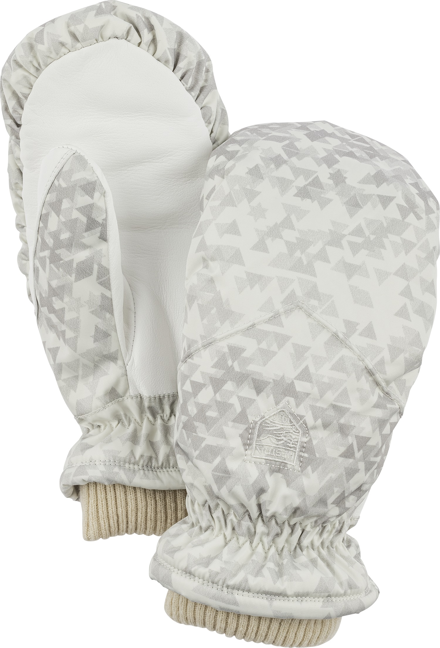 SALE EVENT Hestra Womens CZone Powder Gloves Light Grey Off White