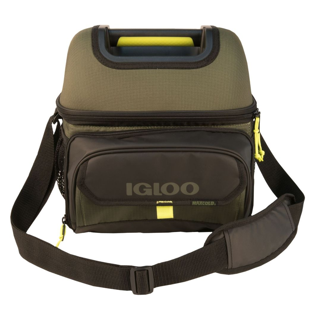 IGLOO Outdoorsman Hard-Top Playmate Gripper 22-Can Cooler Bag
