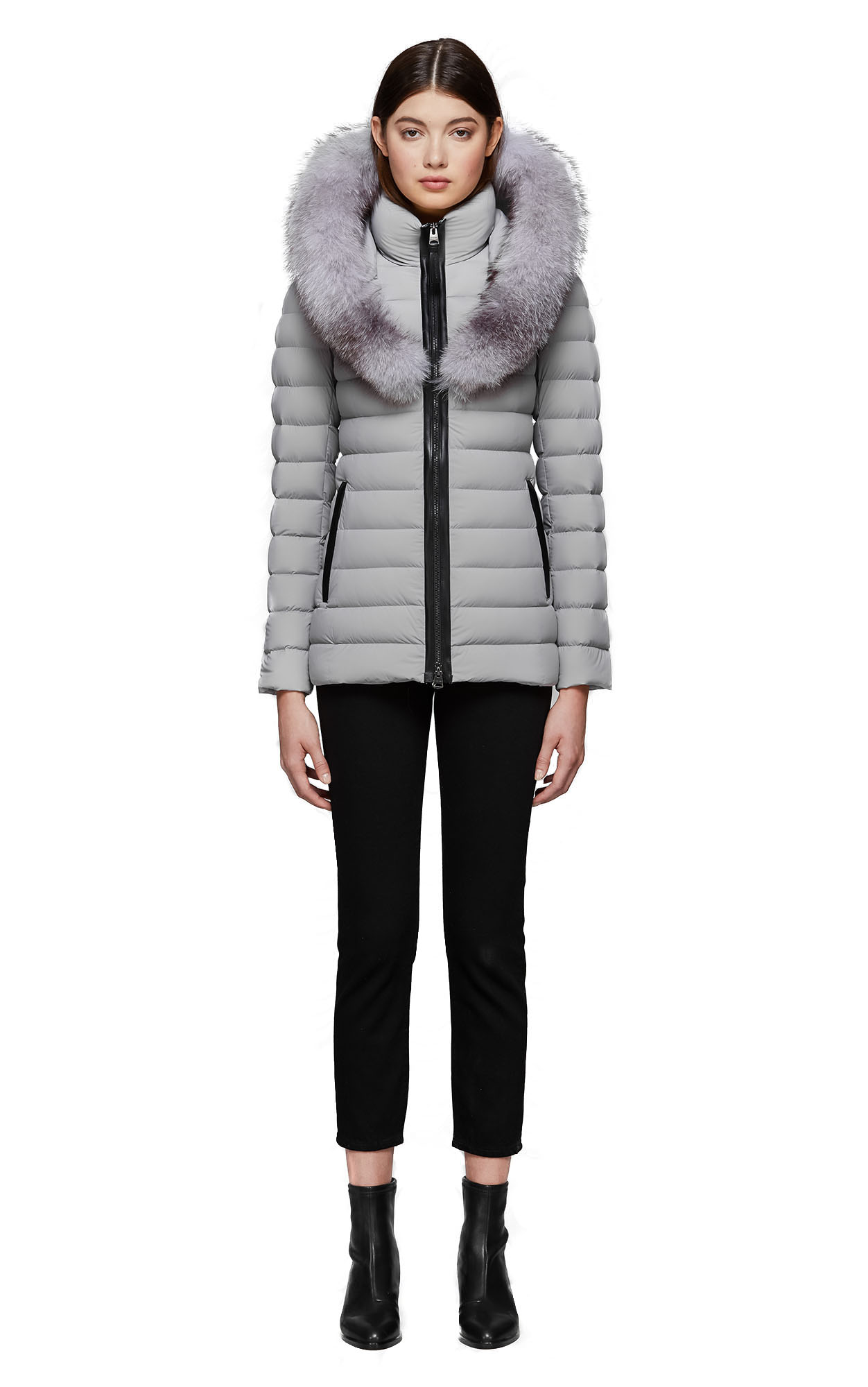 b43ec26c2 Mackage Kadalina-X Light Down Jacket With Fur Trimmed Collar - Womens