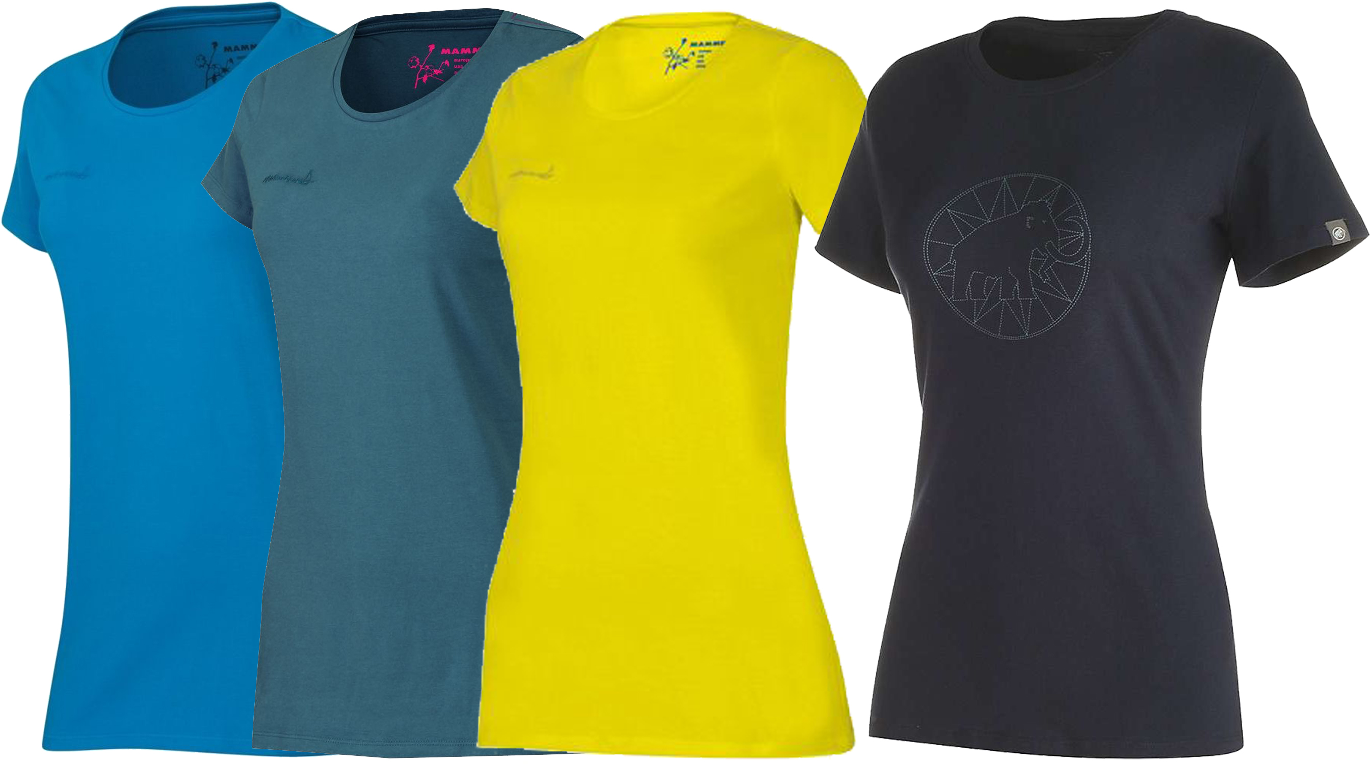 1041-06541-7094-114 Mammut Logo T-Shirt Teal M Womens