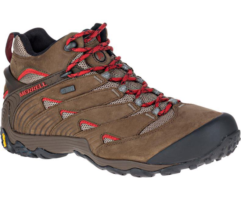 45e305be586c Merrell Chameleon 7 Mid Waterproof Hiking Boots - Men s