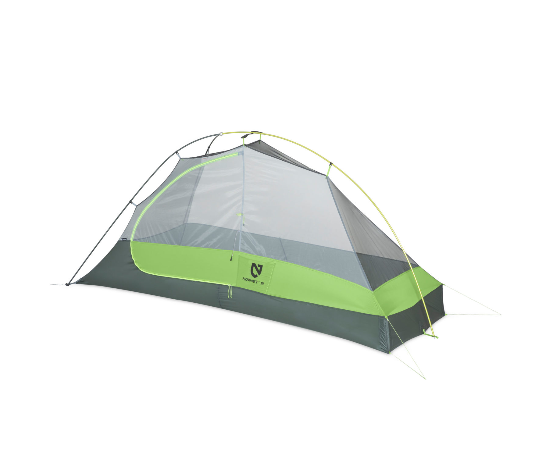 Nemo Equipment Hornet Ultralight Backpacking Tent 1 Person Backpacking Tents Campsaver Com