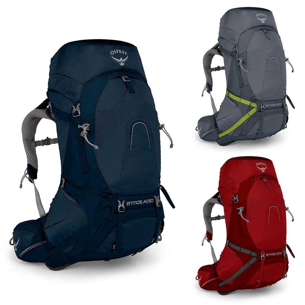 Osprey Atmos AG 65L Hiking Backpack Unity Blue