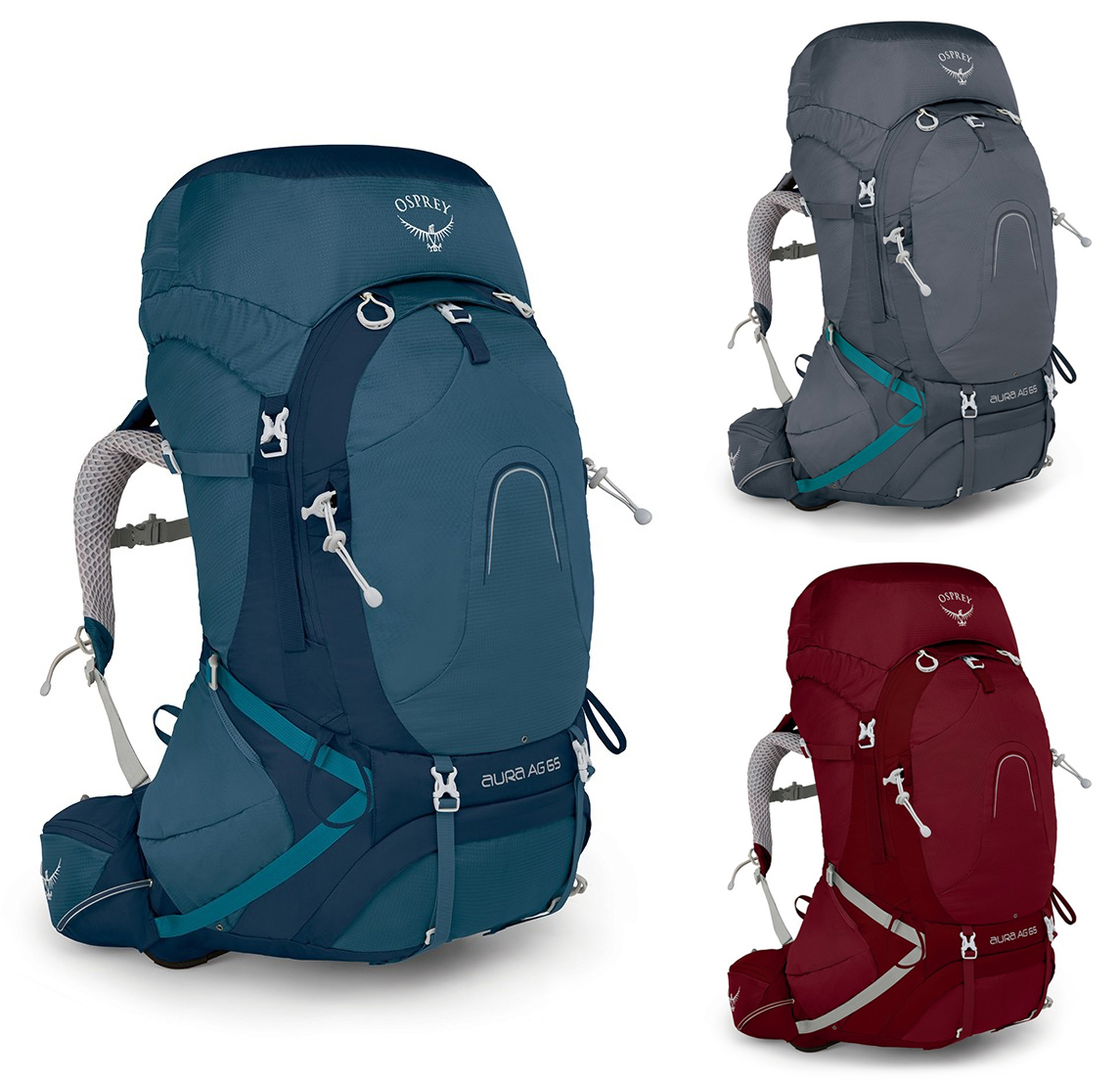 Osprey Aura AG 65 Backpack - Women s, Pack Type  Multi-Day Packs w  Free  S H — 9 models e64677d9c6