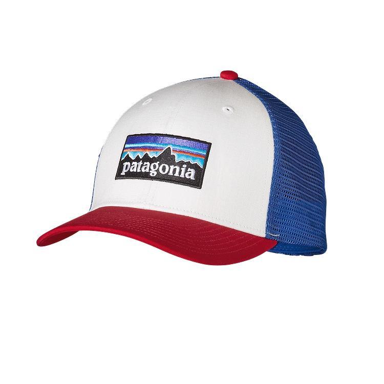 Patagonia P-6 Logo Trucker Hat - Mens — CampSaver d122853c39f