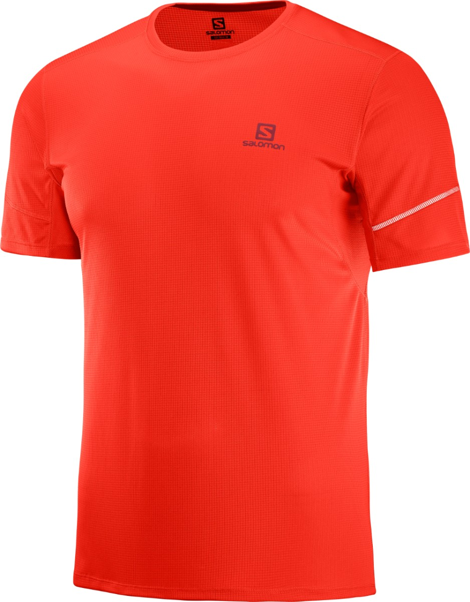 SALOMON Herren Agile Short Sleeve T Shirt J7NNQ