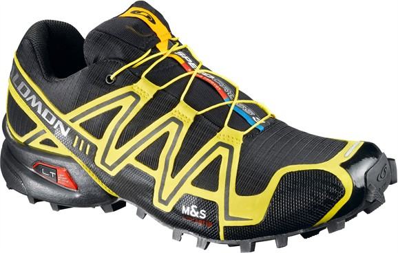 4940ab5061e3 Salomon Speedcross 3 Trail Running Shoes - Men s -13 US-Black Canary Yellow  Autobahn — CampSaver