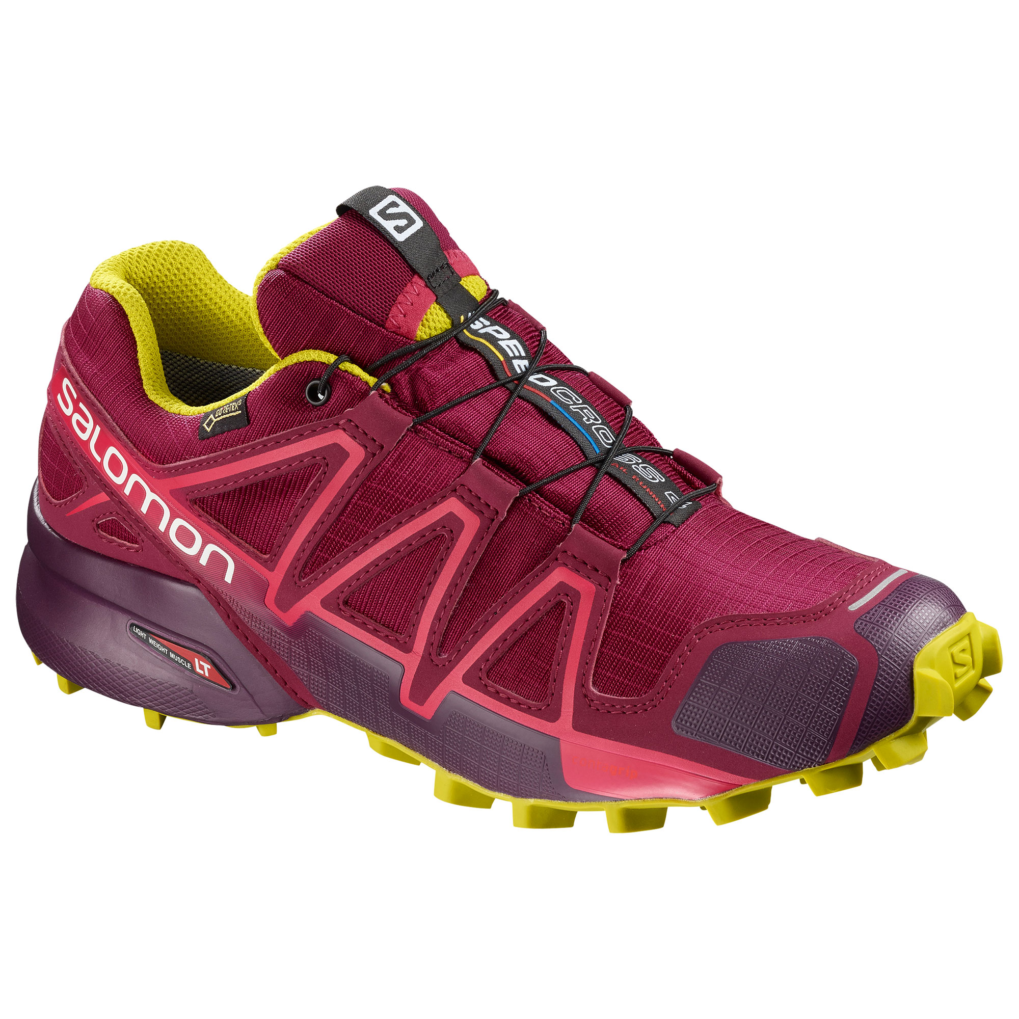 Salomon Speedcross 4 GTX Women's Trail Running Shoe, UK 6