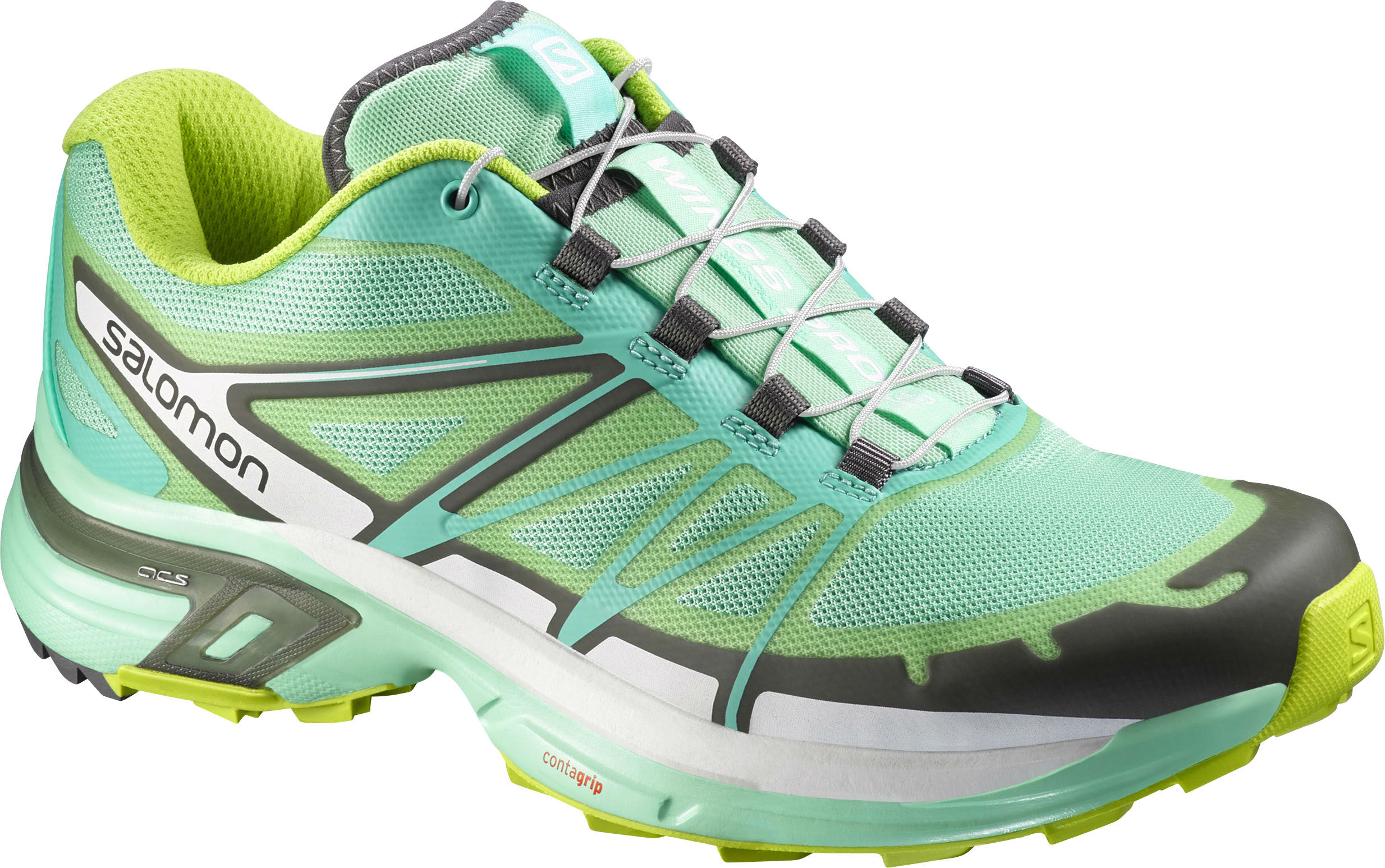 Salomon Wings Pro 2 Trail Running Shoe Womens