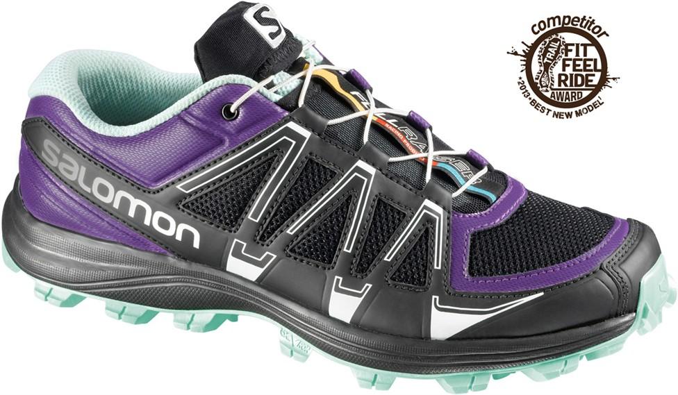 low priced 8b1da 3df8b Salomon Fellraiser Trail Running Shoe - Womens  slm0228-Black Igloo-Medium-10.5 US, 48% Off with Free S H — CampSaver