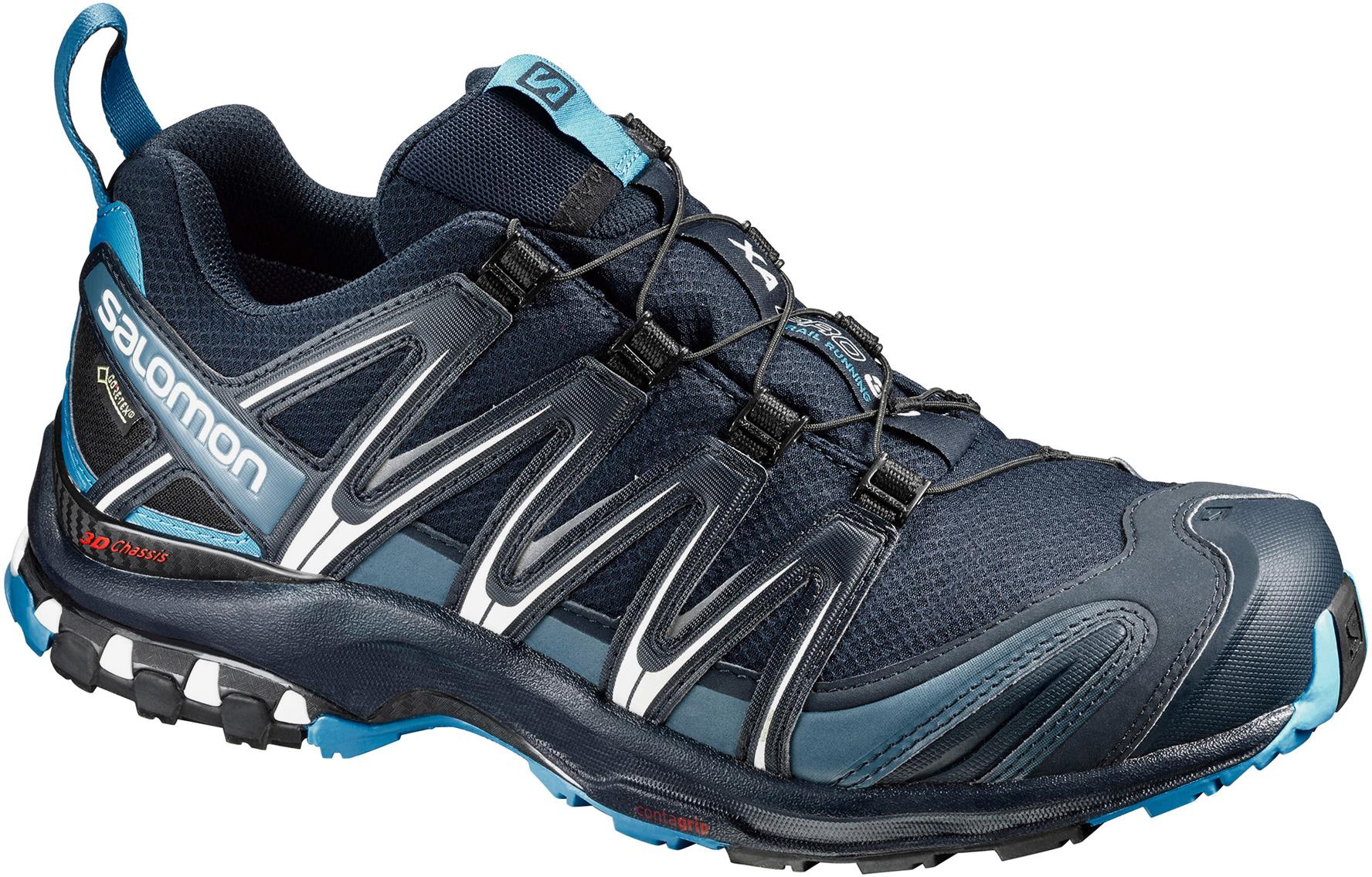 salomon xa pro 3d gore tex waterproof mens trail shoes