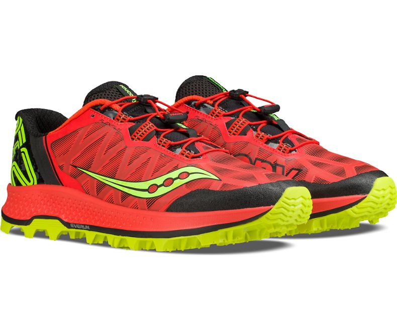 saucony trail running shoes mens