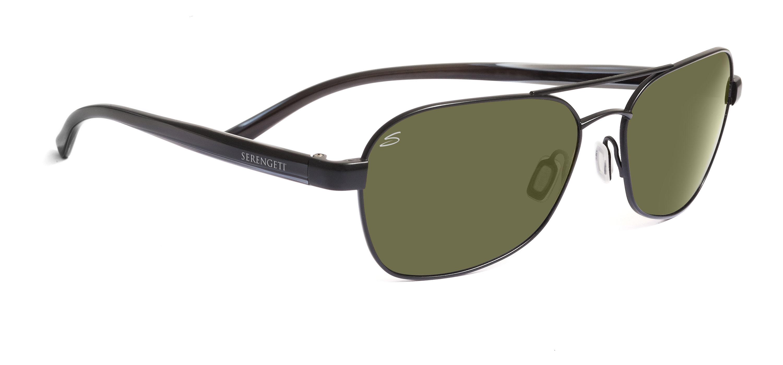 fcb251bc29a Serengeti Volterra Aviator Sunglasses