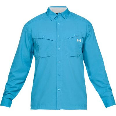 Under Armour Mens UA ArmourVent Fishing Woven Long Sleeve