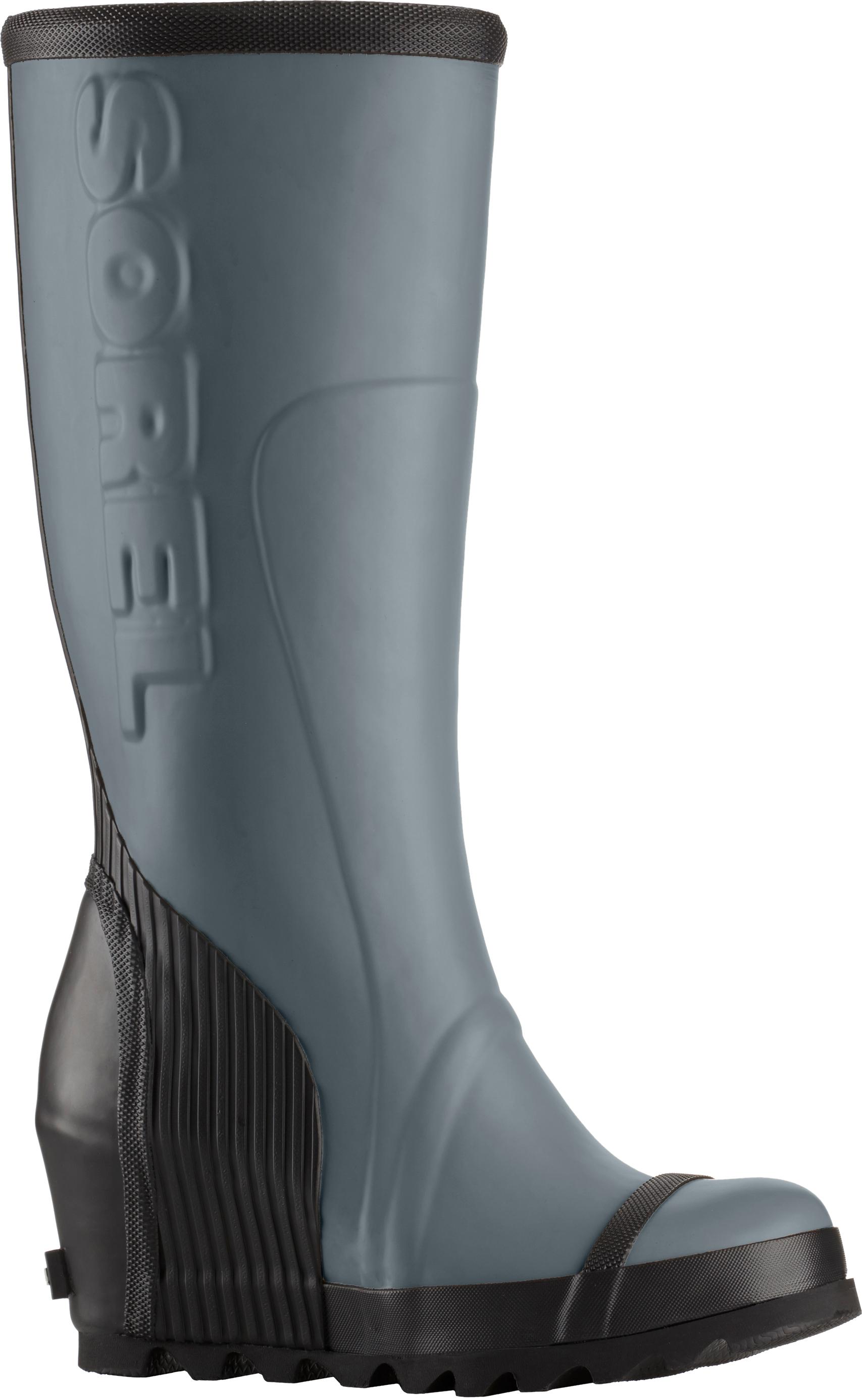 83a82bae950 Sorel Joan Rain Wedge Tall Felt Rubber Boot - Women s