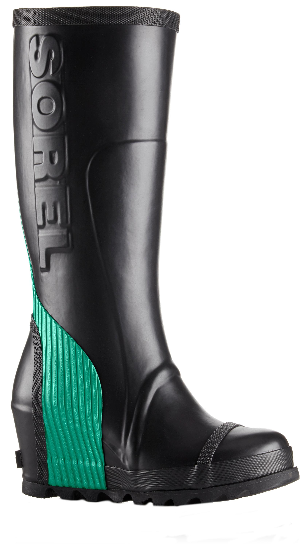 bd6af1de0fd Sorel Joan Rain Wedge Tall Rubber Boot - Women s
