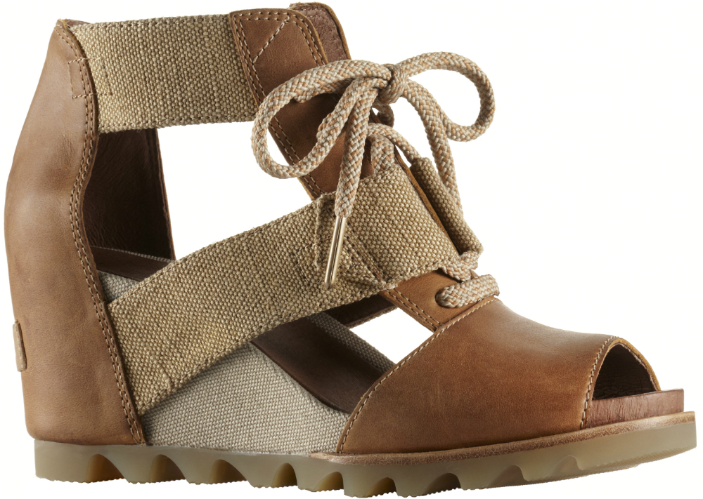 22d8dc4eb21f Sorel Joanie Lace Wedge Sandal - Womens 1777121005-10.5