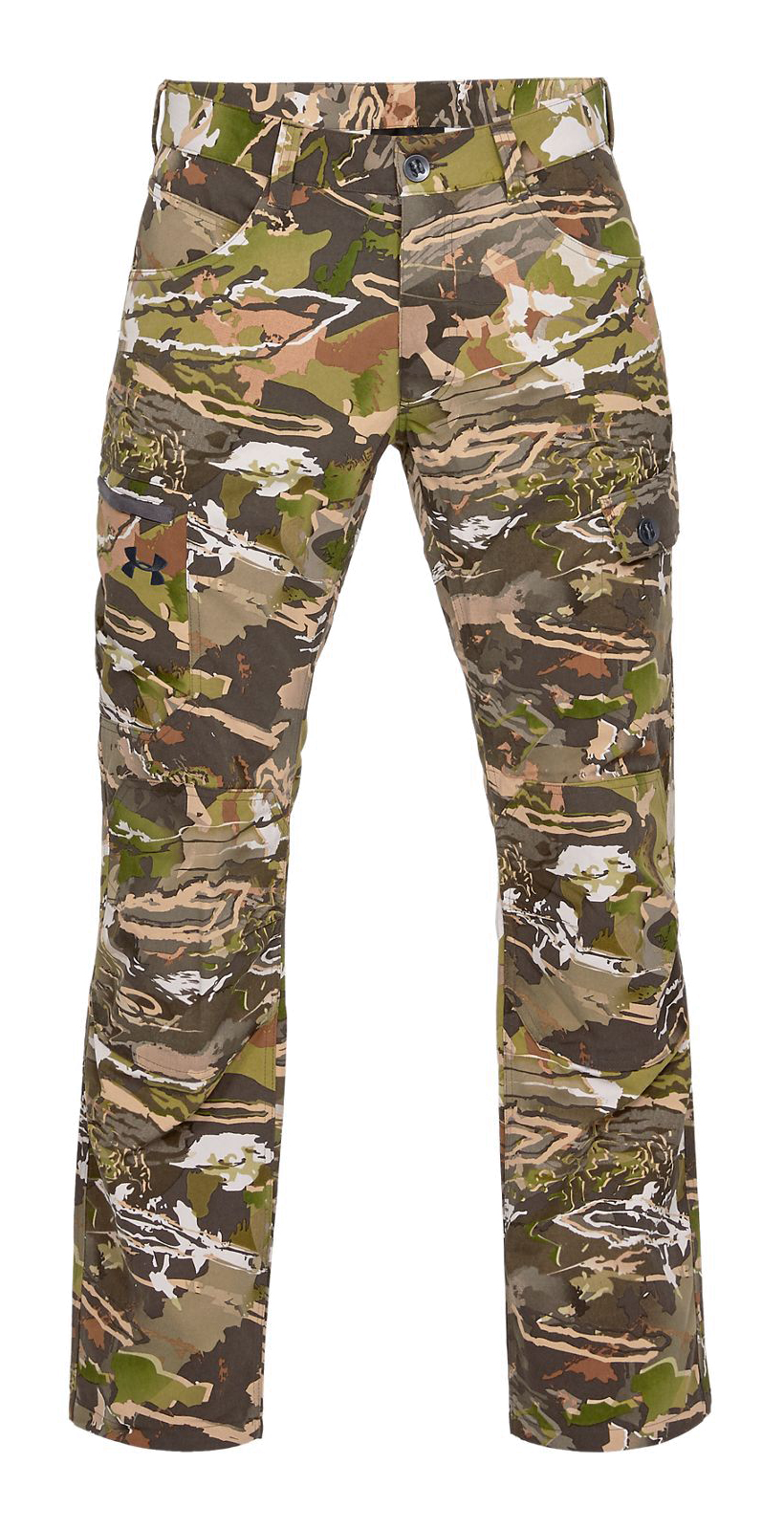 34//32 Ua Forest Camo 940 //Black Under Armour Mens Field Ops Pants