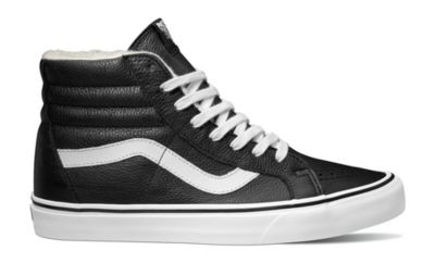 ed63cf3d309 Vans Leather Fleece SK8-Hi Reissue Shoes - Unisex with Free S H — CampSaver