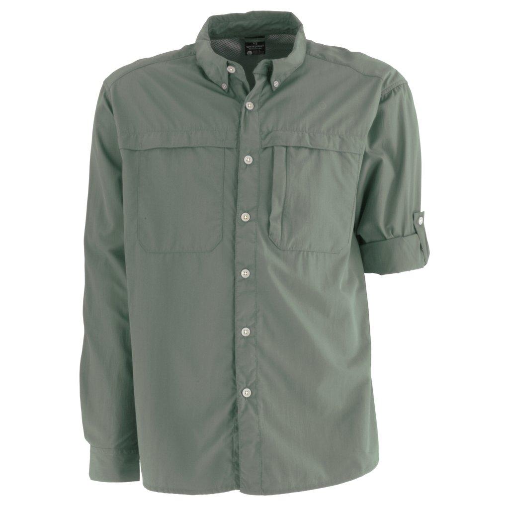 756fd005168b1 White Sierra Bug Free Kalgoorlie Cool Touch Long Sleeve Shirt - Mens ...