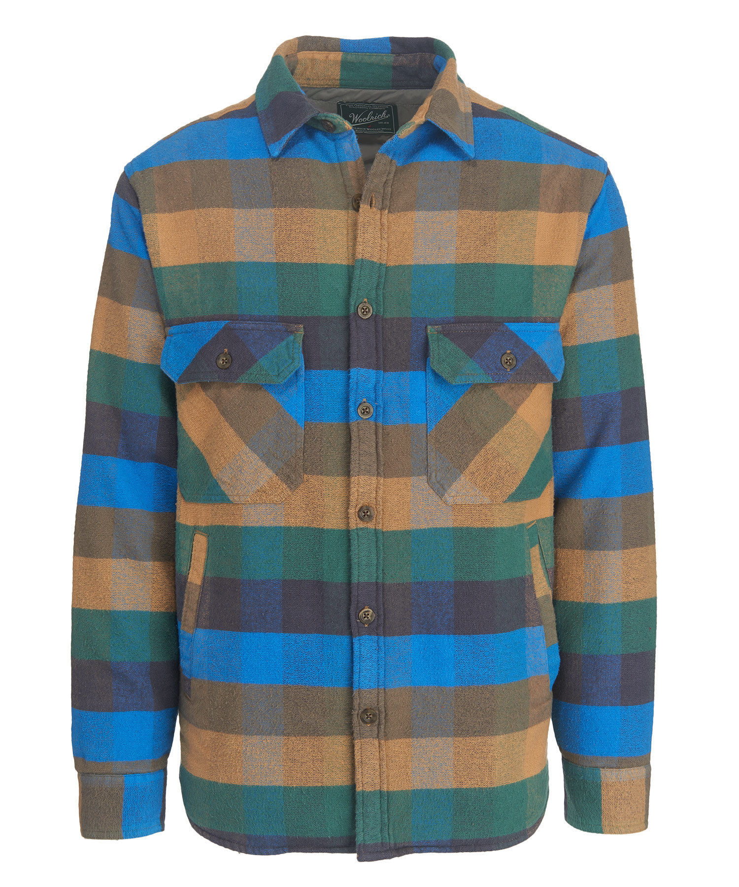 2c3b293ac Woolrich Oxbow Bend Plaid Flannel Shirt Jacket - Men's, Up to 53% Off —  CampSaver